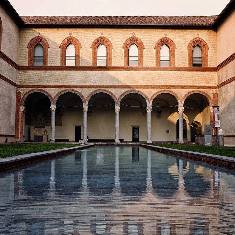 Visitare Milano. Castello Sforzesco