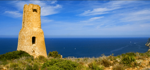Denia un gioiello della costa della Costa Blanca Spagna