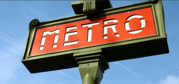 Visitare Parigi: metro paris